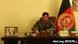 برید جنرال محمد اکرم سامح قوماندان فرقه ۲۰ پامیر در کندز