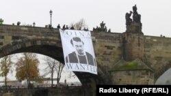 Портрет одного из активистов войны Олега Воротникова