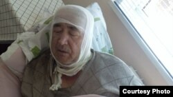 Olim Mustafoev, the father of Muqaddas Mustafoeva, suffered burns when he intervened after his daughter set herself on fire.
