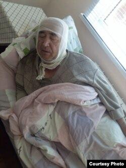 Olim Mustafoyev (suratda) ayni paytda Qashqadaryodagi Shoshilinch tez tibbiy yordam klinikasida davolanmoqda.