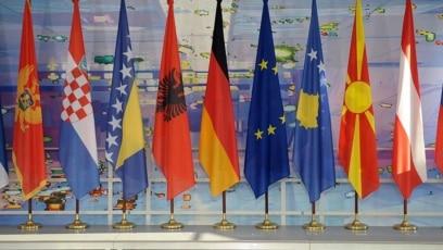 Zastave na samitu Balknskog procesa.