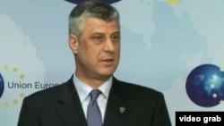 Kryeministri i Kosovës, Hashim Thaçi
