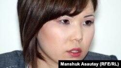 Әлия Тұрысбекова - Владимир Козловтың әйелі. Алматы, 21 мамыр 2012 жыл