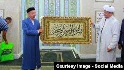 Открытие мечети «Ислам-ата». Ташкент, 6 октября 2016 года.