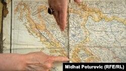 Mapa BiH u Arhivu