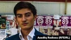 Активист Партии Народного фронта Азербайджана (ПНФА) Руслан Насирли.