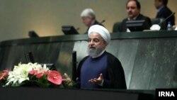 Hasan Rohani u obraćanju u parlamentu