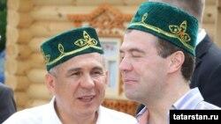 Медведев Казан сабантуенда