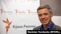 Сергей Мокренюк, представитель Краевого совета украинцев Крыма
