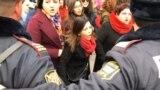 grab: women's day rally baku