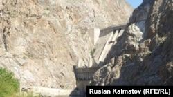 Токтогульская ГЭС в Кыргызстане.