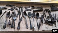 تصویری که «بنیاد ملی جمهوری اتریش برای قربانیان سوسیالیسم ملی» درباره کشفیات جدید در اردوگاه آشوویتس منتشر کرده است.