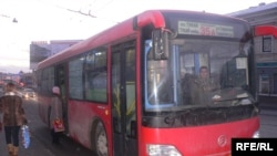 Казандагы 35-А маршрутында йөрүче автобус