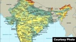 Tatarstan -- map of India