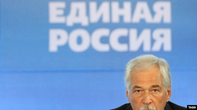 United Russia chief Boris Gryzlov
