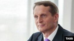 Sergei Naryshkin, shefi i ri i Shërbimit të Inteligjencës së Jashtme të Rusisë