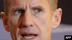U.S. General Stanley McChrystal, commander of U.S. forces in Afghanistan