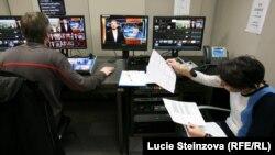 Azad Avropa/Azadlıq Radiolarının studiyası