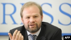 Russia -- Amnesty International's Europe and Central Asia director, John Dalhuisen (file photo)