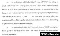Indictment filed by the Justice Department Monica Witt