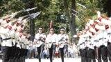 Почесната гарда на македонската армија на одбележувањето на 8 Септември