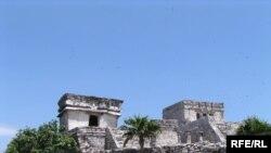 Самую большую угрозу стихия представляет для построенной майя крепости Тулум