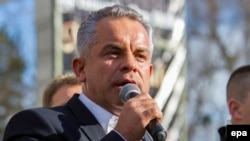 Moldovan oligarch Vladimir Plahotniuc (file photo)