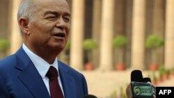 Ўзбекистон Президенти Ислом Каримов.