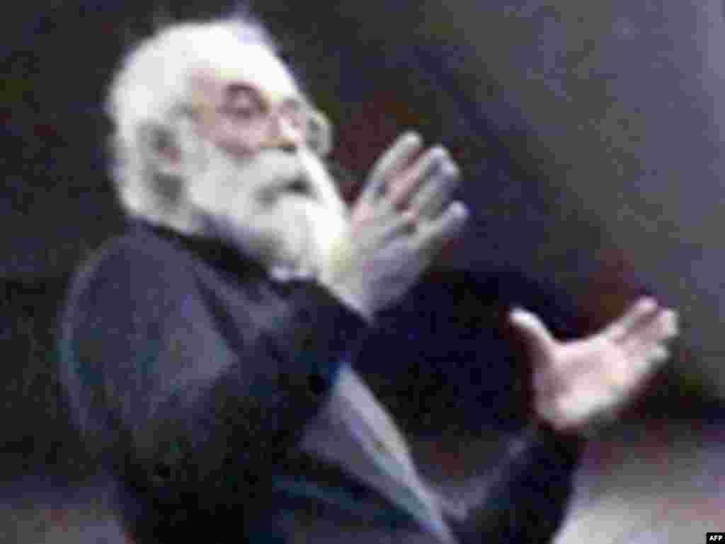 Радован Караджич, фотография с фотографии представленной на пресс-конференции 22 июля 2008