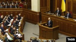 Украина парламенті, Киев, (Көрнекі сурет).