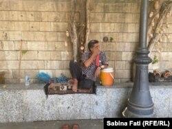 Vânzător tradițional de apă.