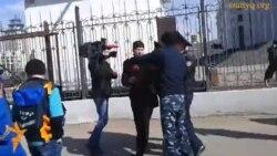 Протест перед Генпрокуратурой