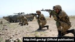 Тактические учения ОДКБ «Рубеж-2021». Иссык-Кульская область, Кыргызстан.