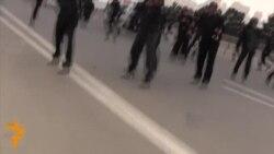 Bakuda hususy söwdegärler demonstrasiýa geçirdi