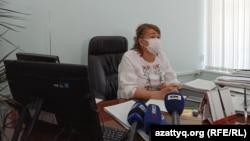 Светлана Темиргалиева, заместитель руководителя управления образования Западно-Казахстанской области