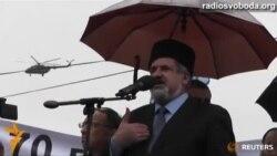 Кримські татари вшанували пам'ять депортованих земляків, незважаючи на заборону російської влади