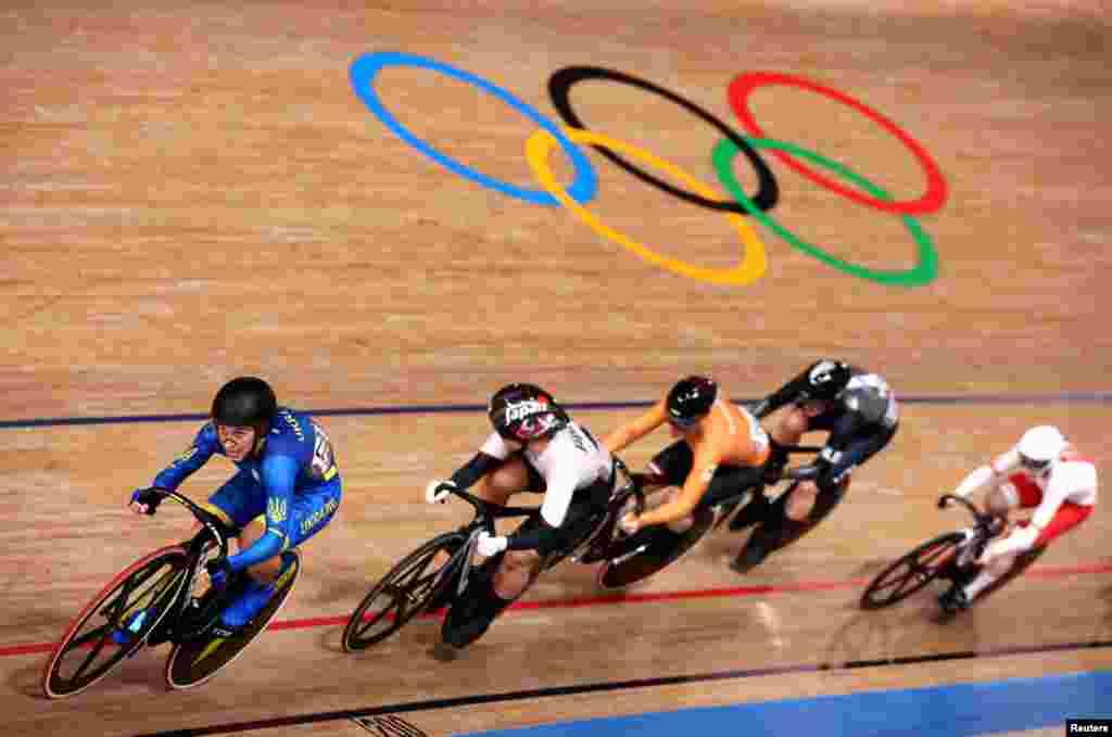 25-річна велогонщиця Олена Старікова завоювала срібло Олімпійських ігор у Токіо в індивідуальному спринті