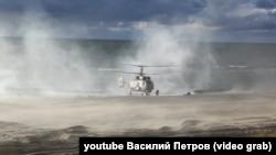 Військові навчанн «Захід-2013» в Білорусі, висадка десантників