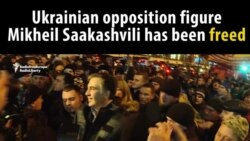 Saakashvili Freed, Marched Home By Supporters