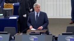 Момент объявления Сенцова победителем премии имени Сахарова (видео)