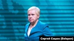 Старшыня ЦВК Лідзія Ярмошына.