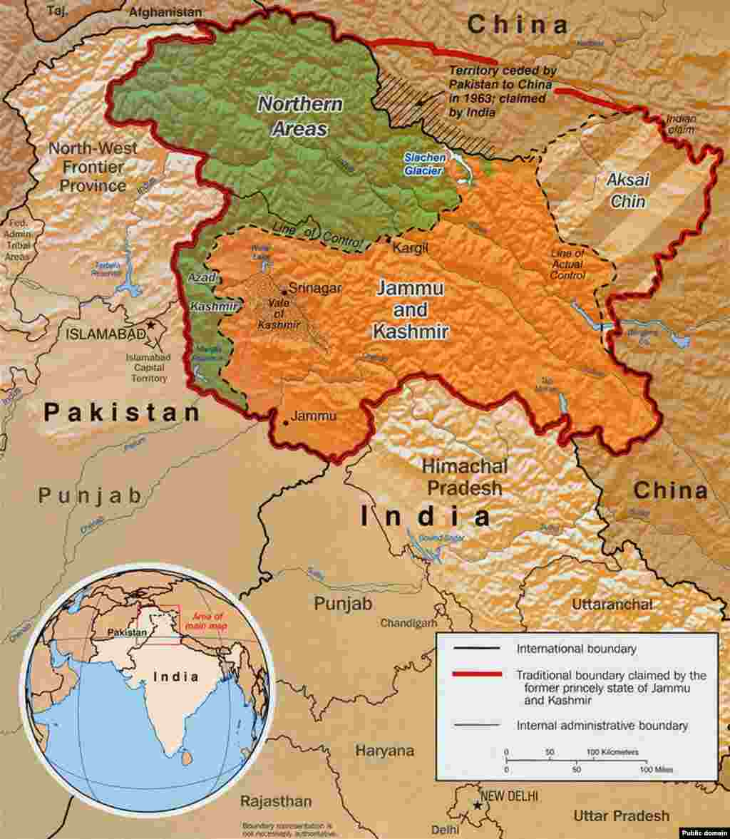 "As the two countries dug in on their respective claims in Kashmir, the disputed region was split into a Pakistani-held north and Indian-held south. The ""line of control"" was to become the front line of the ensuing conflict. The United Nations recommended that India prepare for a referendum that would decide whether Kashmir would join with India or Pakistan, a vote that was never held."