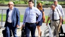 Миле Јанакиески пред Суд