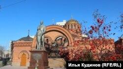Памятник Николаю Второму в Новосибирске