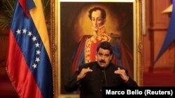 Парлямэнт Вэнэсуэлы знаходзіцца ўапазыцыі даНікаляса Мадура (на фота)