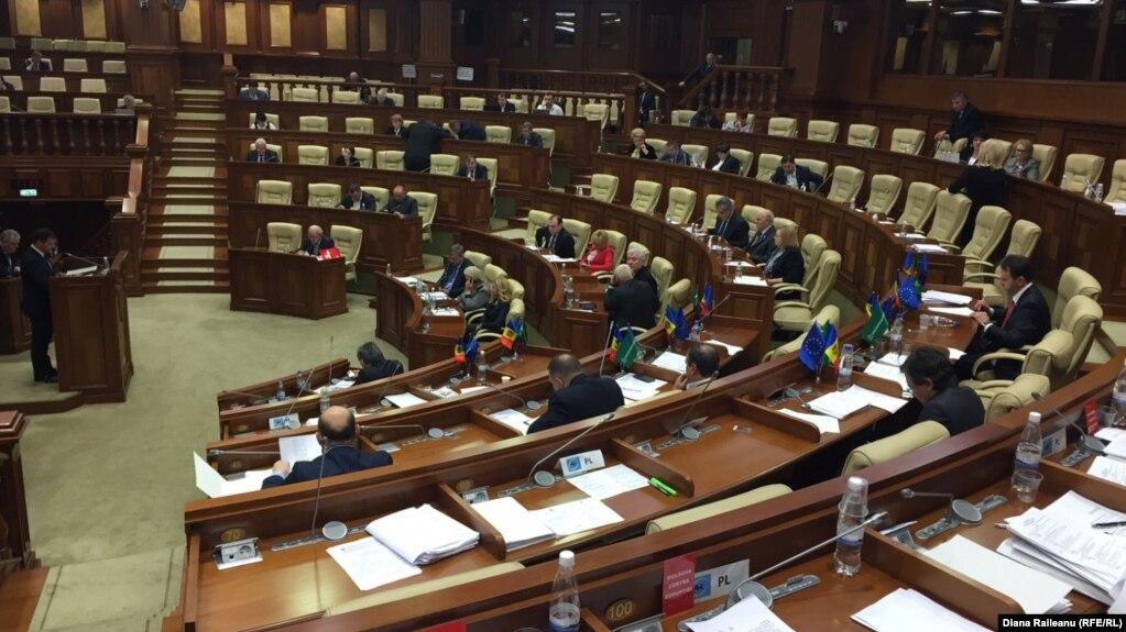 Legislativul în şedinţă plenară