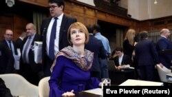 Заместитель министра иностранных дел Украины Елена Зеркаль возглавляет украинскую сторону в ряде исков против России в международных судах