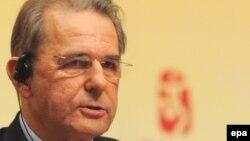 Президент Международного олимпийского комитета Жак Рогге.