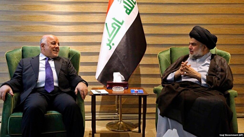 عراق؛ توافق مقتدی صدر و حیدر عبادی برای تشکیل ائتلاف