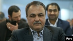 Ali Rastegar Sorkhei, the former manager of Iran's Bank Mellat (file photo)